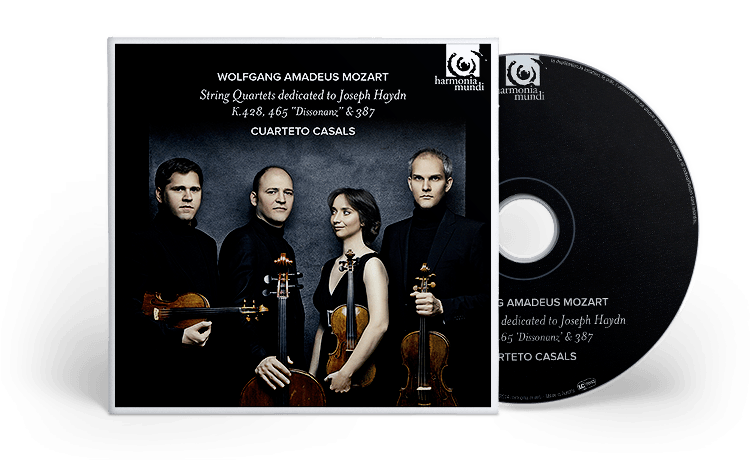 String Quartets K428, 465 & 387