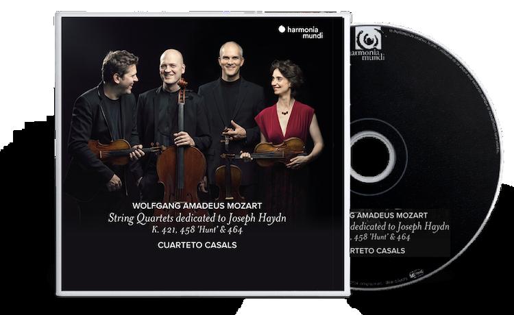 String Quartets dedicated to Joseph Haydn. K. 421, 458 'Hunt' & 464