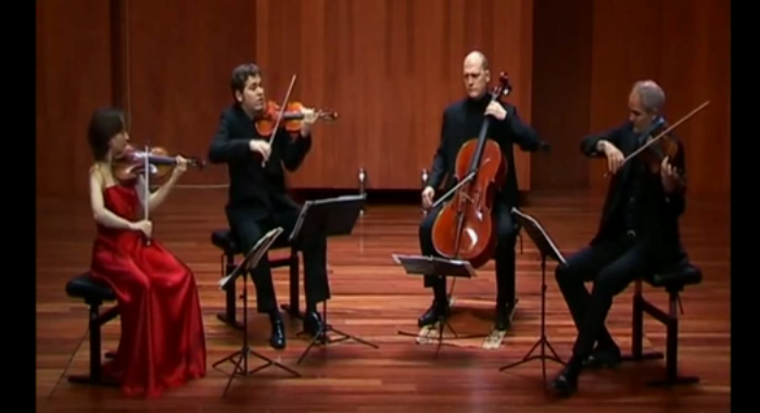 Shostakovich, Cuarteto de cuerdas
