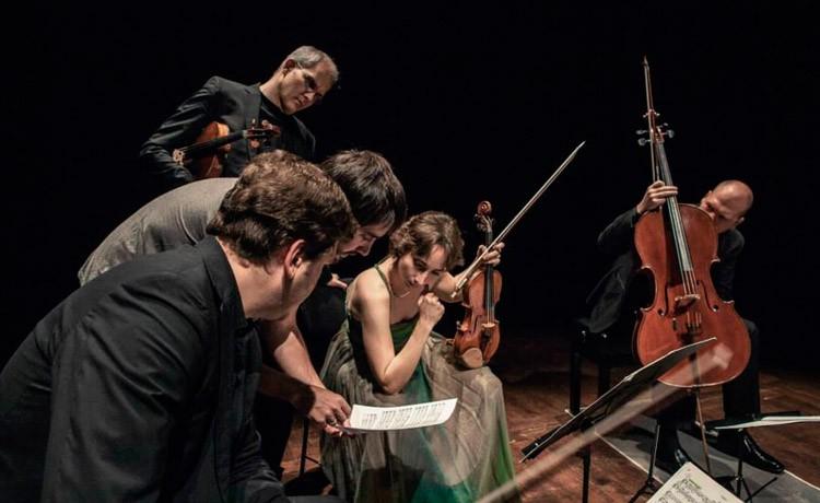 Quartet Casals i la integral dels Quartets de Franz Schubert